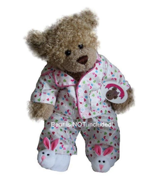 Smartie PJ's with Rabbit Slippers